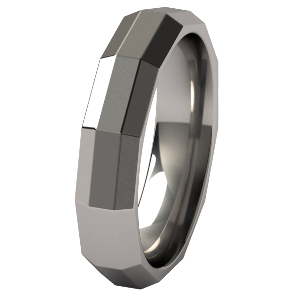 Satellite-none-Titanium Rings