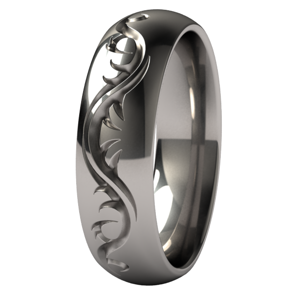 Tattoo Dome-none-Titanium Rings