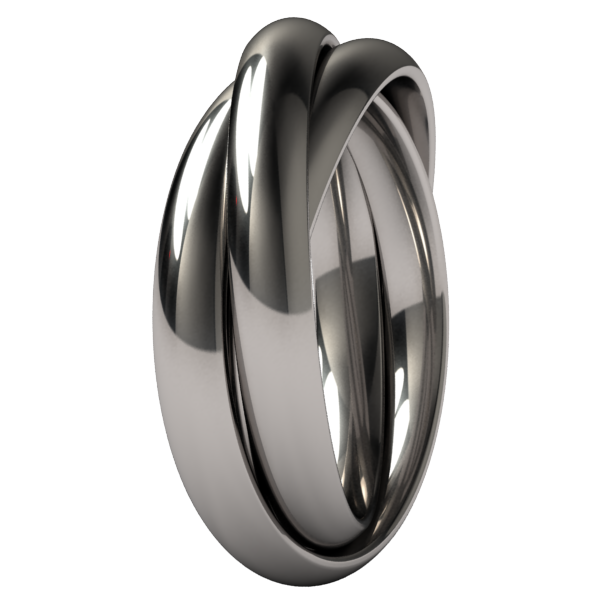 Trinary-none-Titanium Rings