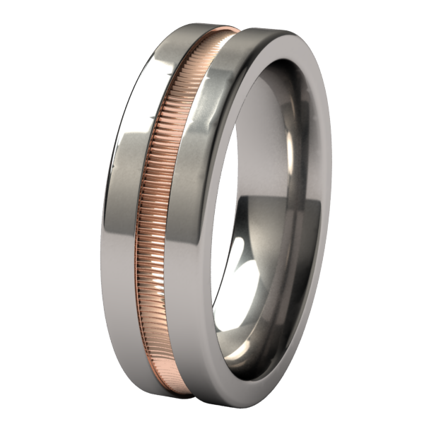 Zephyr - Colored-none-Titanium Rings