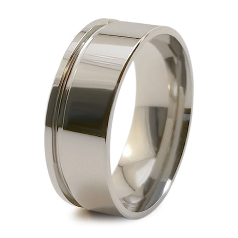 Zuzu Stealth Titanium Ring