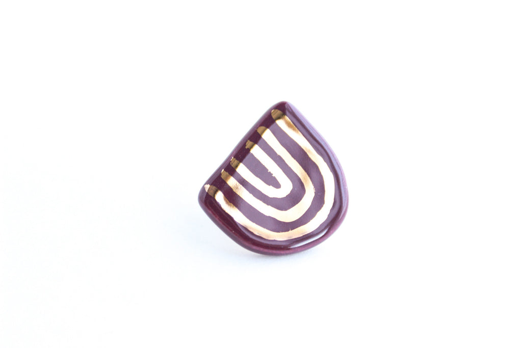 "SALE! Gold ""U"" Pin"