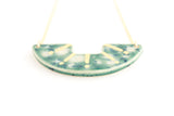 Lily Pad Sunburst Necklace