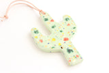 NEW! Confetti Cactus Ornament