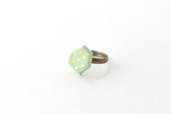 SALE! Patterned Gem Ring