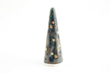 Green Gold Dot Ring Cone