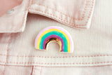 Gold Rainbow Pin