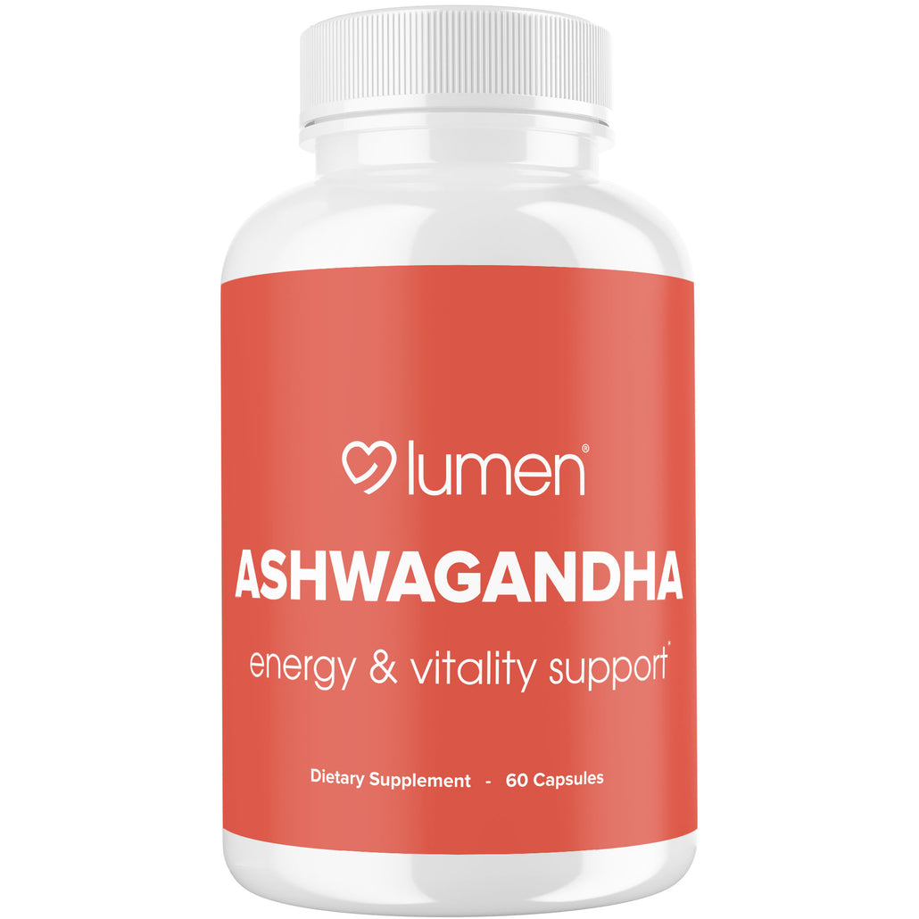 Ashwagandha with Black Pepper - Powerful Anti Anxiety & Stress Relief Supplement for Improved Adrenal & Thyroid Support - Naturally Enhances Mood to Sleep Better & Reduce Stress - 60 Vegetable Capsules