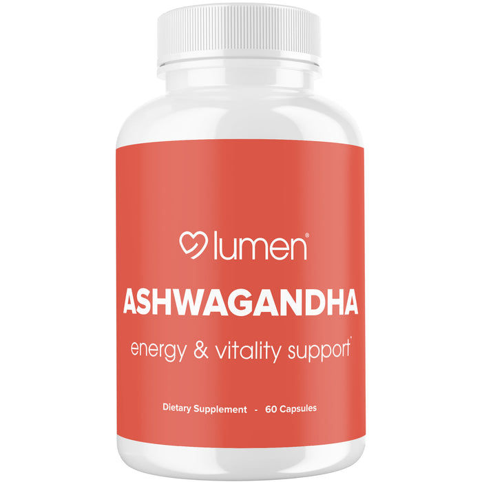 Ashwagandha with Black Pepper - Energy & Vitality Support