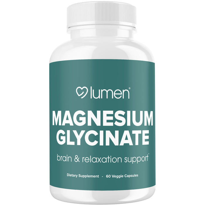 Magnesium Glycinate - Brain & Relaxation Support*