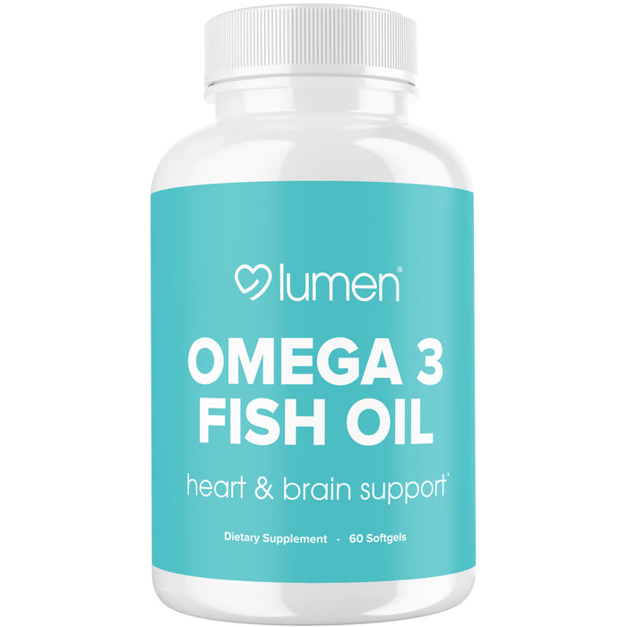 Omega 3 Fish Oil - Heart & Brain Support