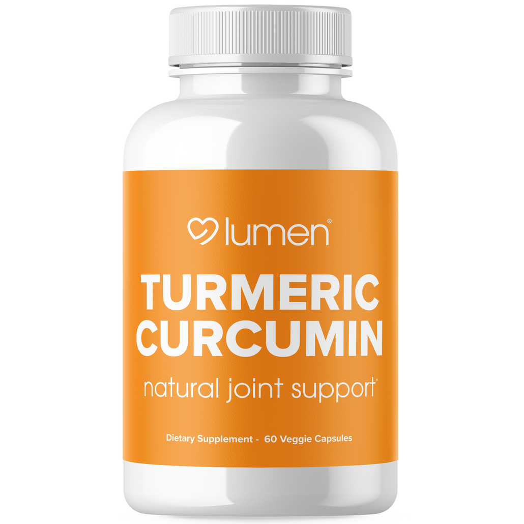 Turmeric Curcumin 1200mg with Bioperine - Naturally Combat Joint Pain & Inflammation - 60ct
