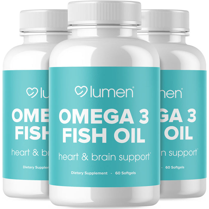 Lumen® Omega 3 Fish Oil - 3 Pack Special Offer