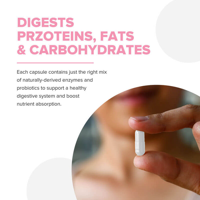 Digestive Enzymes Pro-Enzyme Blend 60ct (3-pack) - 15% Off + FREE Shipping