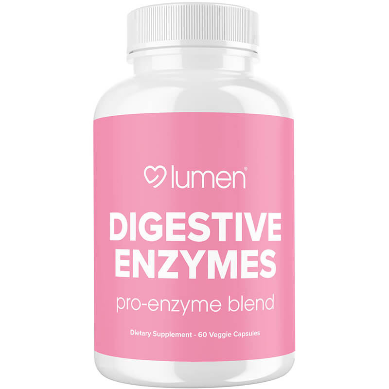 Digestive Enzymes - Powerful Enzymes Blend with Probiotics for Improved Digestive Health - Restores Gut Health, Combats Bloating, & Relieves Gas - 60 Vegetable Capsules