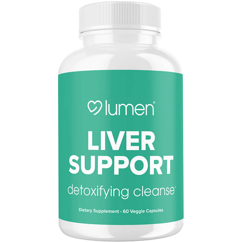 Liver Support - Powerful Detoxifying Cleanse Supplement - Contains Milk Thistle, Dandelion, Turmeric, Ginger, Beet Root, Berberine, & Artichoke Extract - 60 Vegetable Capsules