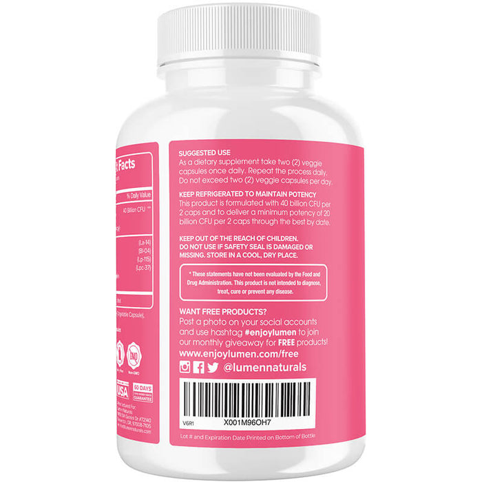 Probiotic 40 Billion 60ct (6-pack) - 35% Off + FREE Shipping