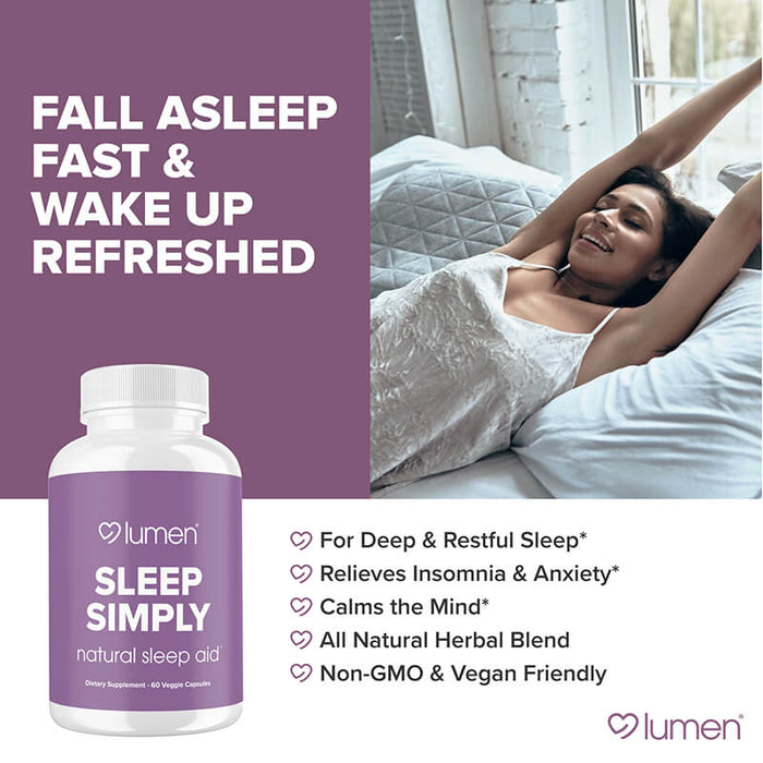 Sleep Simply 60ct (3-pack) - 15% Off + FREE Shipping