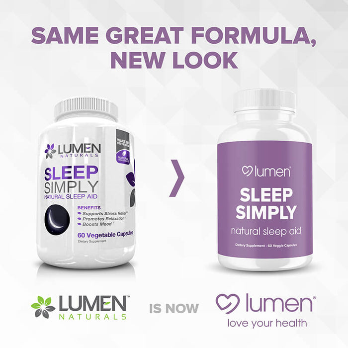 Sleep Simply 60ct (6-pack) - 35% Off + FREE Shipping