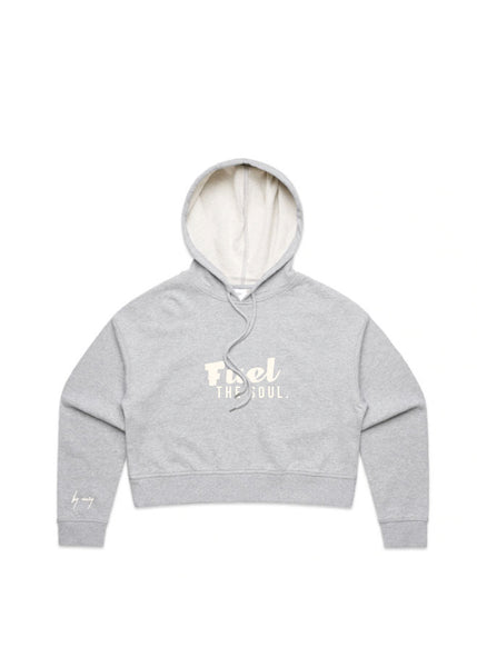 BY MARY CROPPED HOODIE / FUEL THE SOUL
