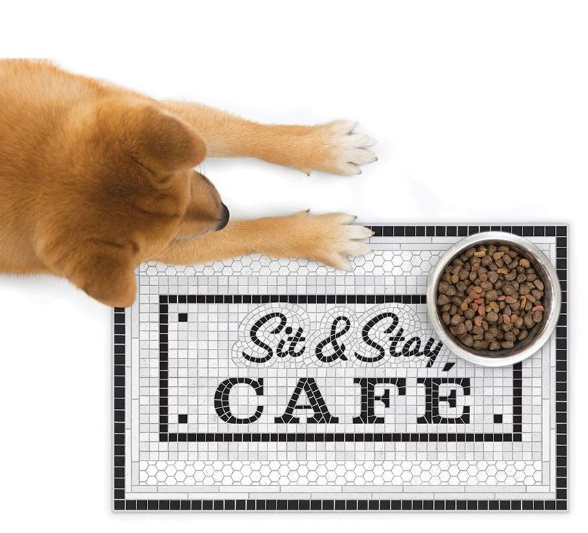 Fred Howligans Pet Placemat Sit & Stay