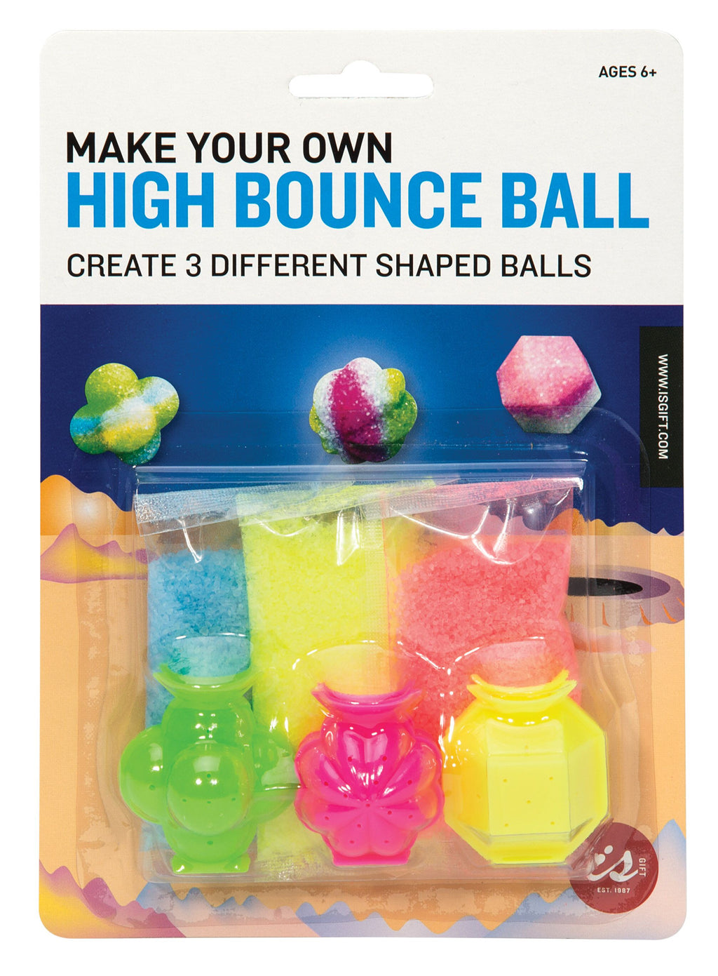 Make Your Own Bounce Ball Small