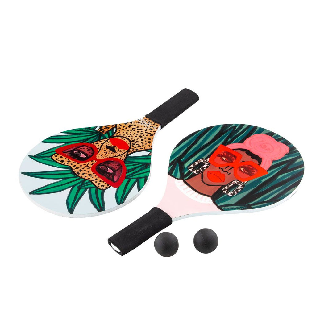 Jungle Rumble Beach Paddles