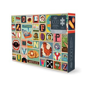 Jigsaw Puzzle XYZ Blocks