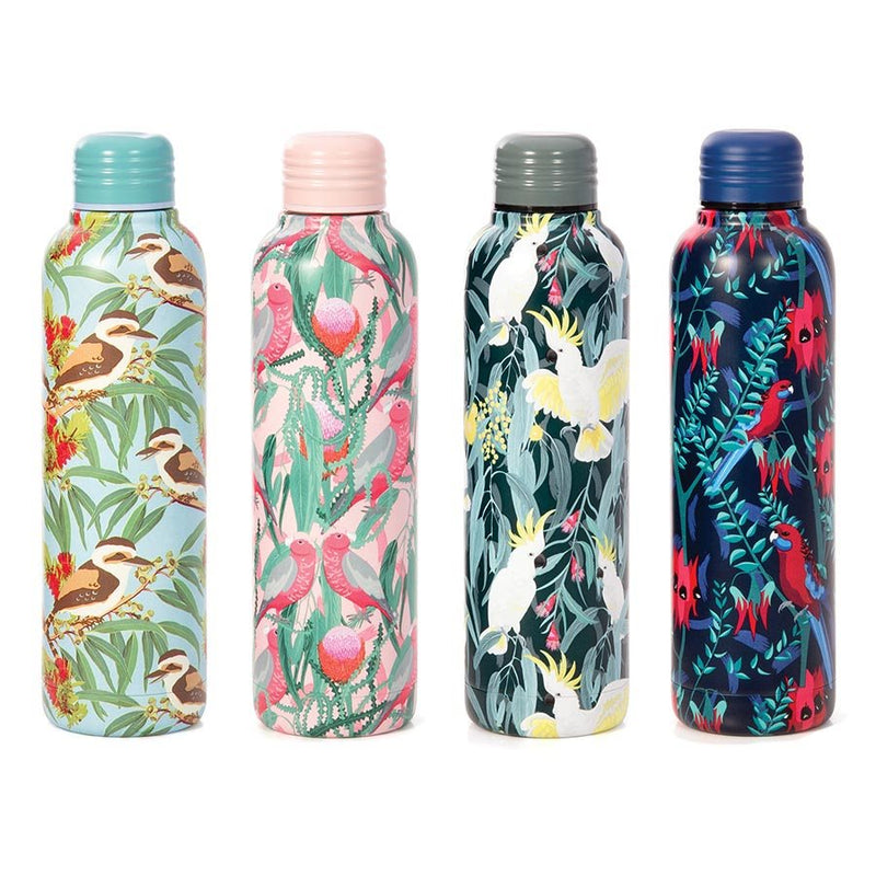 Australia Collection Birds Water Bottle