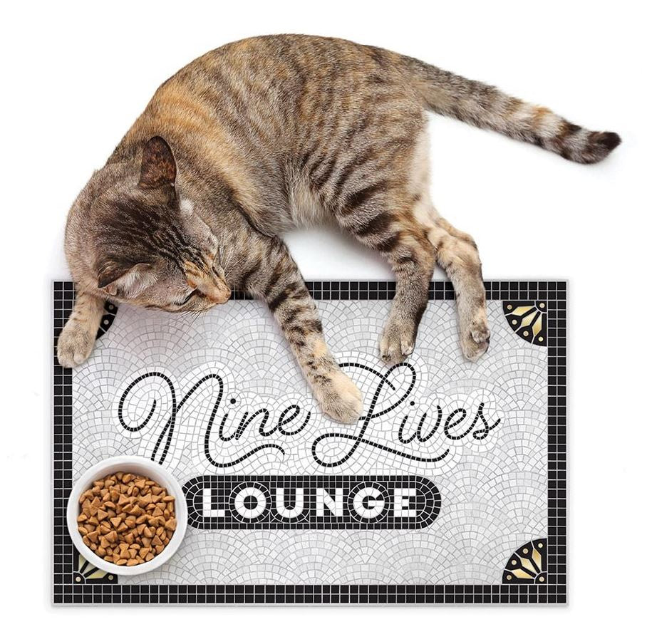 Fred Howligans Pet Placemat Nine Lives