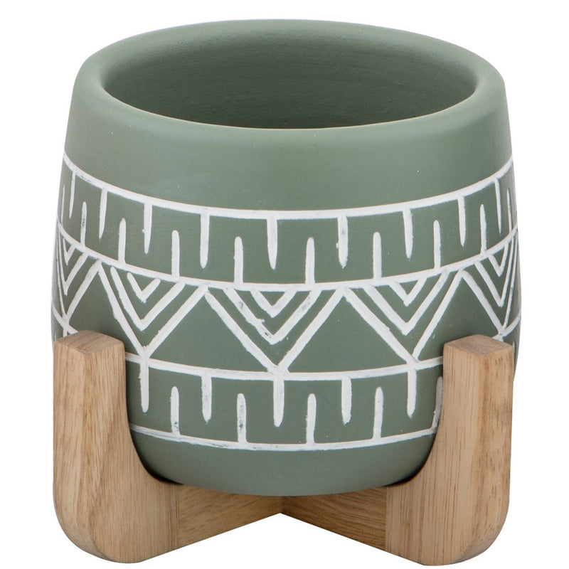 Tova Planter Pot On Stand ­