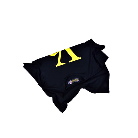Black Tee with Gold VC Logo