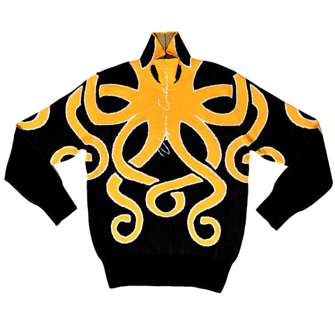 Yellow Squid Sweater
