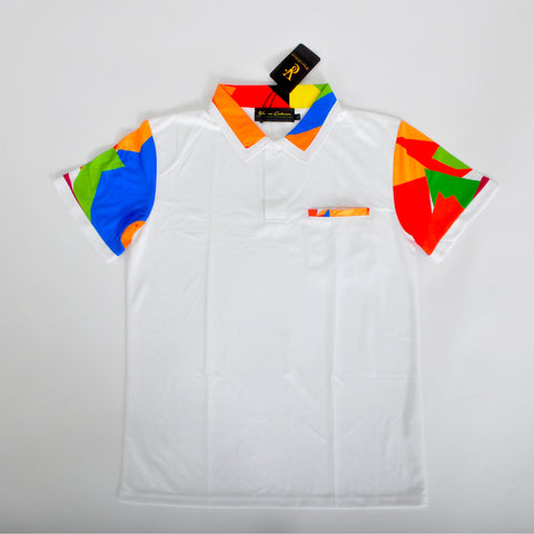 Slim Fit Polo - White