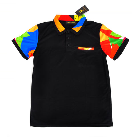 VC Slim Fit Polo - Black