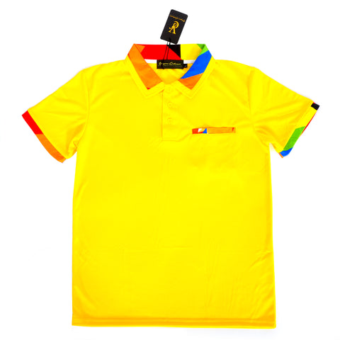 VC Slim Fit Polo - Yellow