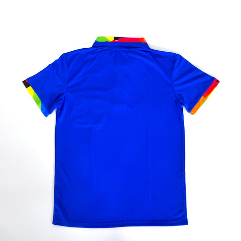 Slim Fit Polo - Royal Blue
