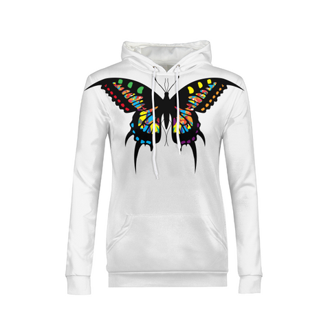 VC Butterfly Drip Collection - Womens Hoodie (Limited Quantities)