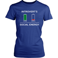 Introvert's Social Energy