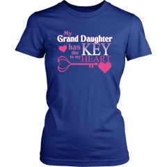 My Grand Daughter Has The Key To My Heart