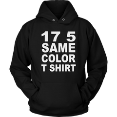 17 5 Same Color T-Shirt