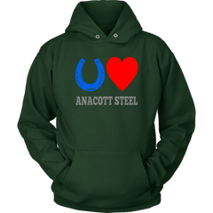 Blue Horseshoe Loves Anacott Steel