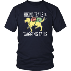 Hiking Trails And Wagging Tails