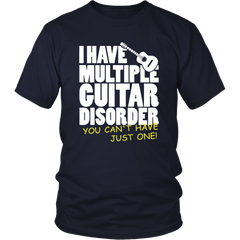 I Have Multiple Guitar Disorder, You Can't Just Have One