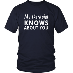 My Therapist Knows About You