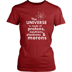 The Universe Is Made Of Protons Neutrons Electrons And Morons