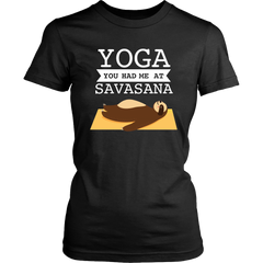 Yoga. You Had Me At Savasana