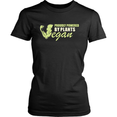 Vegan. Proudly Powered By Plants