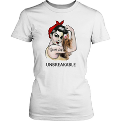 Yorkie Lady Unbreakable