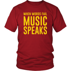 When Words Fail, Music Speaks